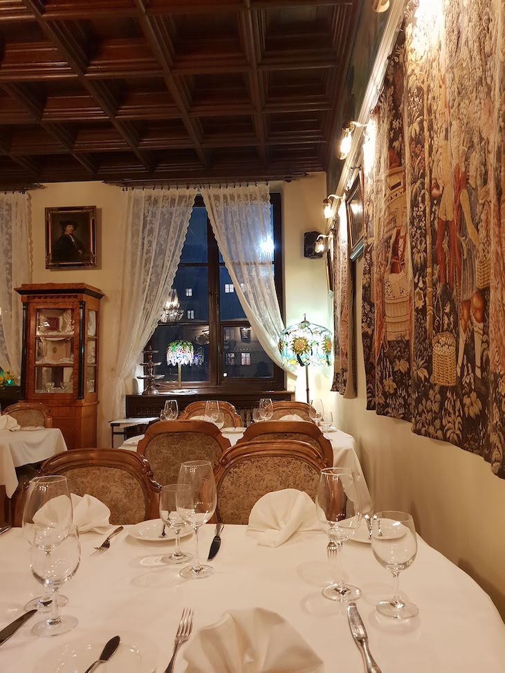 Restaurante U Barssa - Varsóvia - Polónia © Viaje Comigo