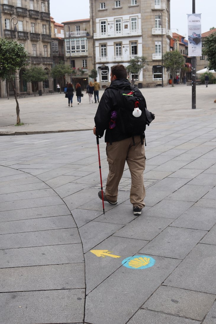 Peregrino no Caminho de Santiago - Centro Histórico de Pontevedra © Viaje Comigo