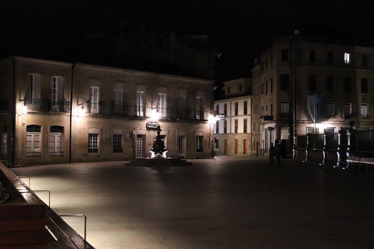 Noite em Pontevedra - Galiza © Viaje Comigo