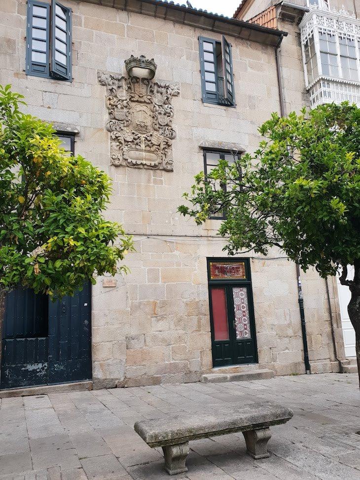 Praza do Teucro - Centro Histórico de Pontevedra © Viaje Comigo