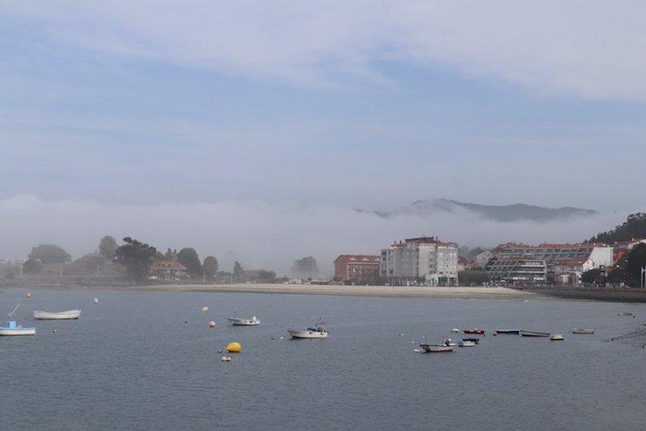 Praia Santa Marta - Baiona, Pontevedra, Galiza, Espanha © Viaje Comigo
