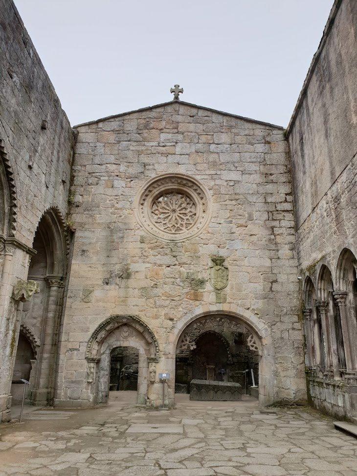 Ruínas do antigo Convento de San Domingos -Pontevedra © Viaje Comigo