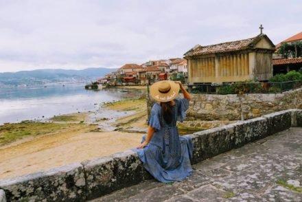 Susana Ribeiro em Combarro, Poio, Pontevedra, Galiza, Espanha © Viaje Comigo