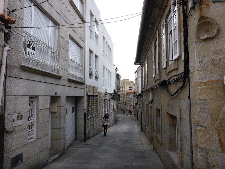 Centro histórico de Baiona - Pontevedra © Viaje Comigo