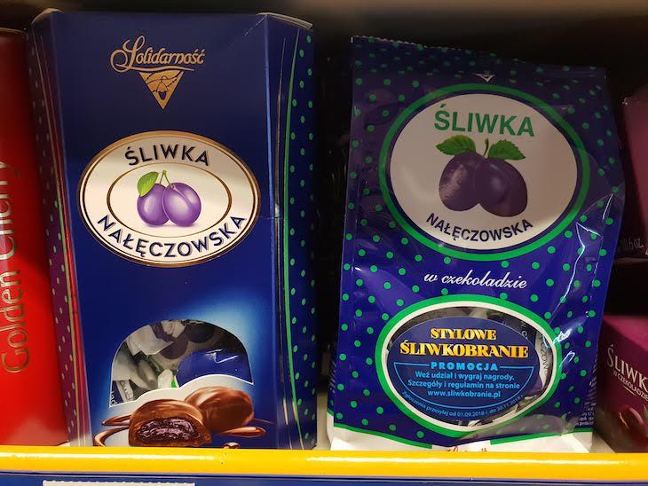 Bombom de Ameixas e Chocolate Wedel - Polónia © Viaje Comigo