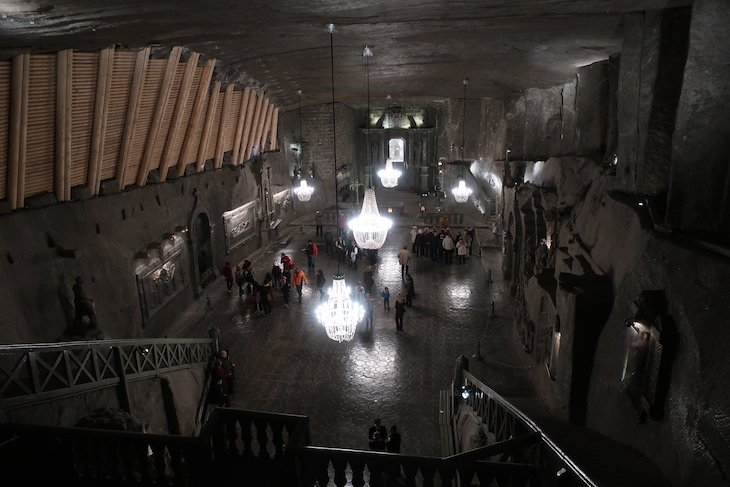 MInas de Wieliczka, Cracóvia, Polónia © Viaje Comigo
