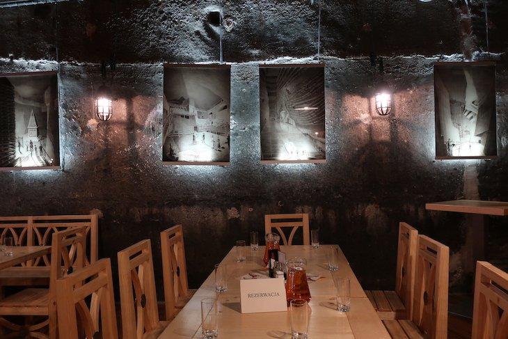 Restaurante das Minas de sal de Wieliczka, Cracóvia, Polónia © Viaje Comigo