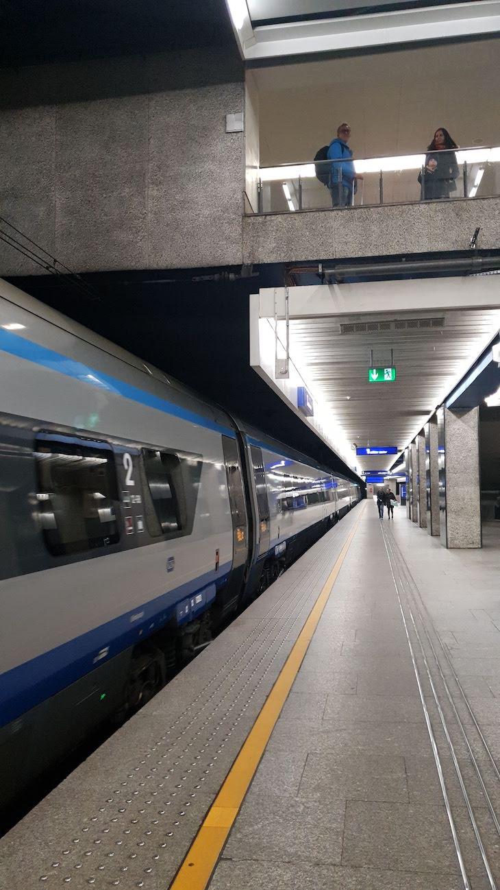Andar de comboio entre Varsóvia e Cracóvia - Polónia © Viaje Comigo