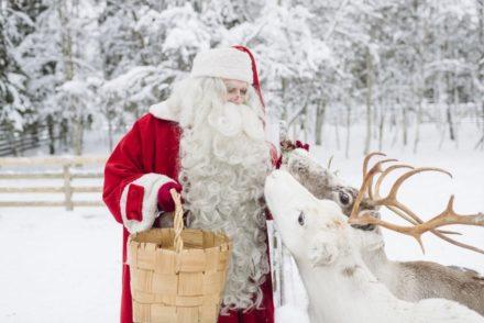 Pai Natal na Lapónia - Direitos Reservados