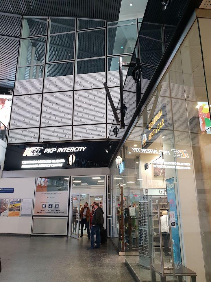 Service Center Intercidades - Estação de Varsóvia - Polónia © Viaje Comigo