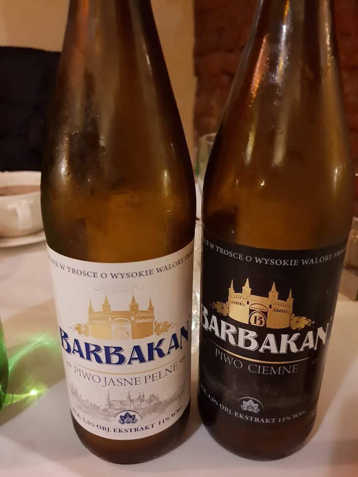 Cerveja Barbakan - Cracóvia - Polónia © Viaje Comigo