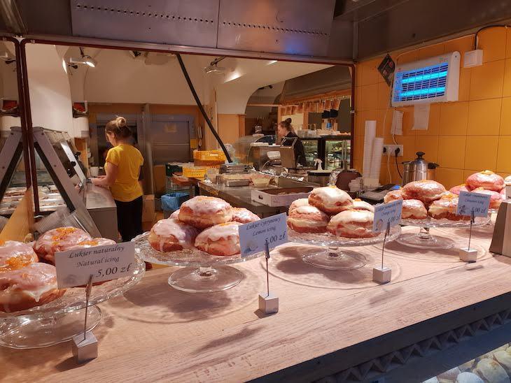 Paczki em pastelaria de Cracóvia - Polónia © Viaje Comigo