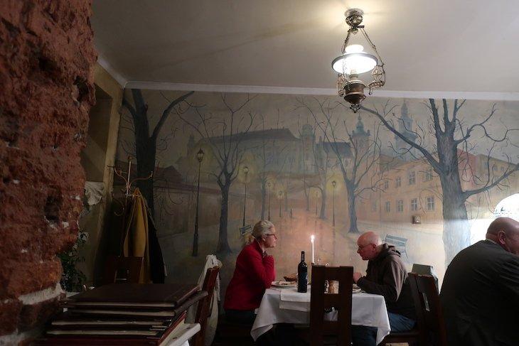 Restaurante Pod Baranem - Cracóvia - Polónia © Viaje Comigo
