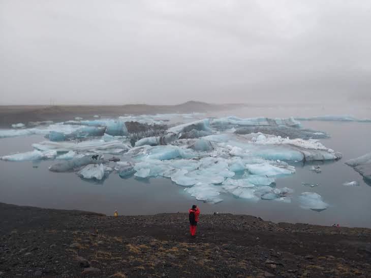 Glaciar Lagoon, Viagem à Islândia: testes do Galaxy A9, Samsung © Viaje Comigo