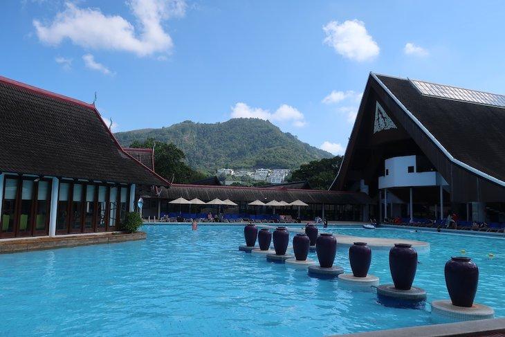 Piscina do Club Med Phuket - Tailândia © Viaje Comigo