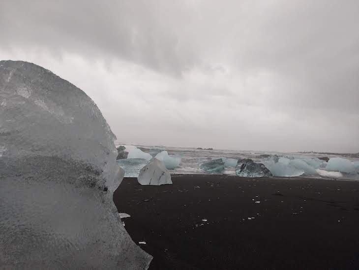 Praia dos Diamantes, Viagem à Islândia: testes do Galaxy A9, Samsung © Viaje Comigo