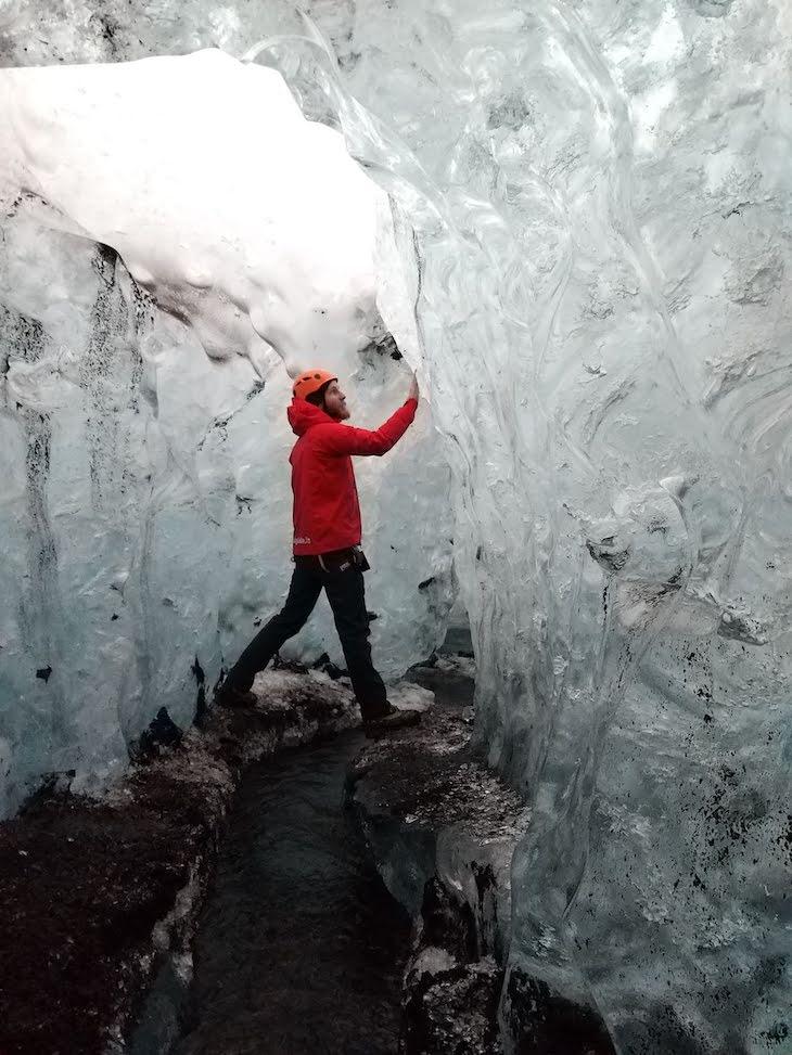 Grutas do glaciar - Viagem à Islândia: testes do Galaxy A9, Samsung © Viaje Comigo