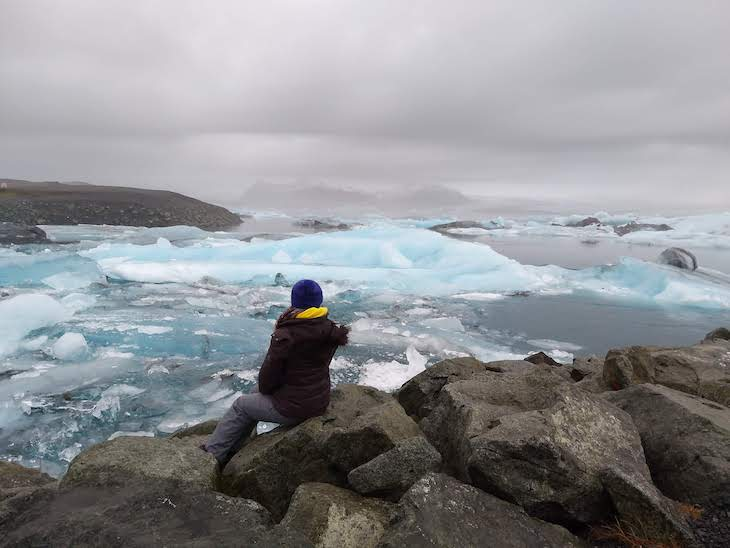 Lagoa do Glaciar - sul da Islândia © Viaje Comigo