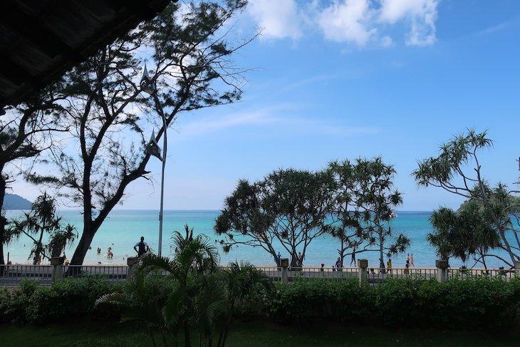 Vista para Kata Beach - Club Med Phuket - Tailândia © Viaje Comigo