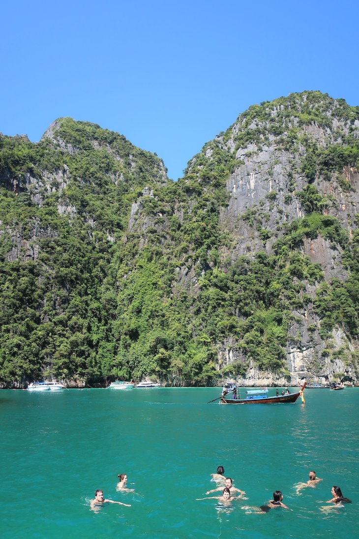 lhas Phi Phi (Islands), Tailândia © Viaje Comigo