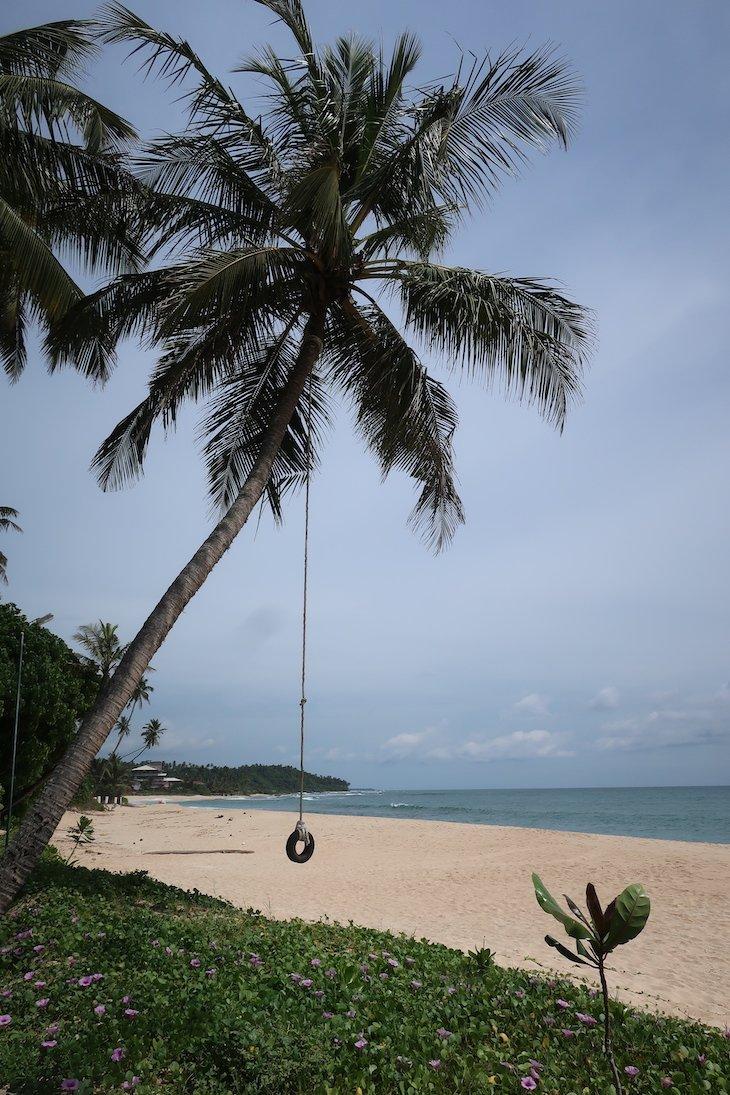 Baloiço no Ubuntu Beach Villas Hotel - Sri Lanka © Viaje Comigo