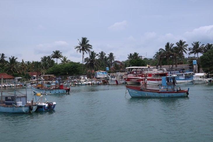 Porto de Mirissa - Sri Lanka © Viaje Comigo