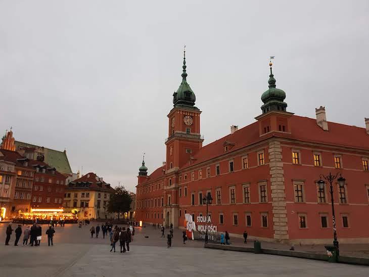 Castelo Real de Varsóvia - Polónia © Viaje Comigo