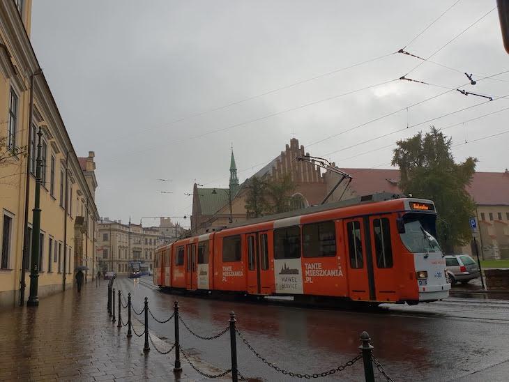 Elétrico de Cracóvia, Polónia © Viaje Comigo