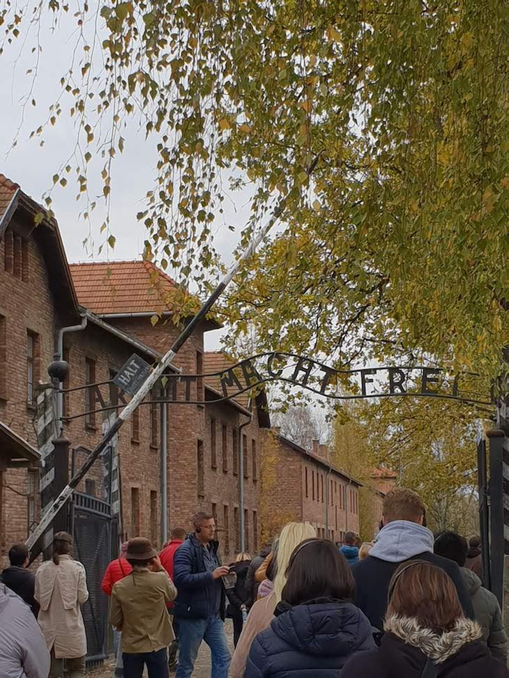 Auschwitz I, Polónia © Viaje Comigo