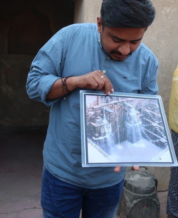 Poço Chand Baori em dias de chuva, a encher - Abhaneri - Índia © Viaje Comigo