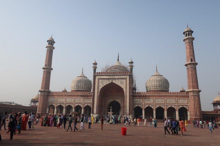 Mesquita Jama Masjid, Deli, India © Viaje Comigo