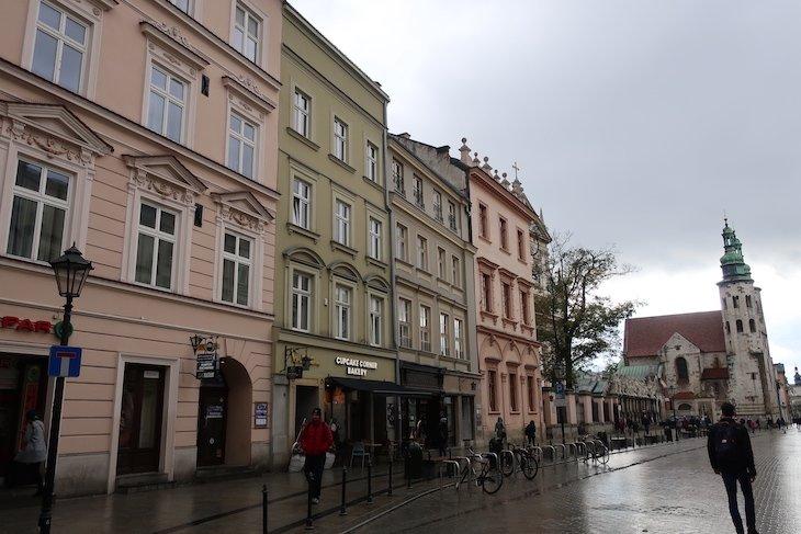 Rua Grodzka - Cracóvia, Polónia © Viaje Comigo