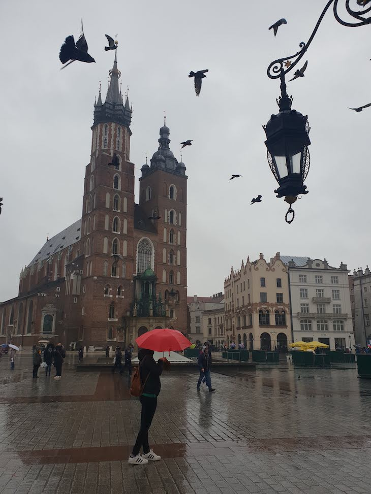 Igreja de Santa Maria - Cracóvia - Polónia © Viaje Comigo