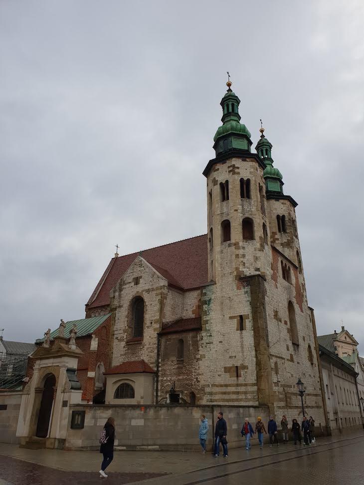 Igreja Santo André - Cracóvia - Polónia © Viaje Comigo