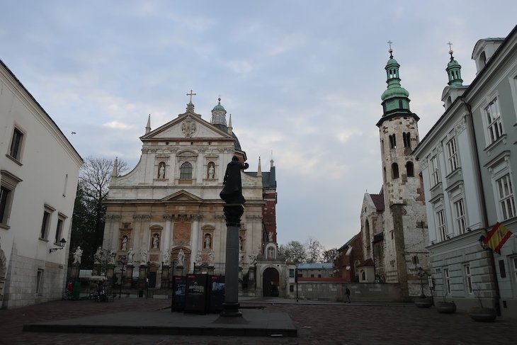 Igrejas de S. Pedro e S. Paulo e de Santo André - Cracóvia - Polónia © Viaje Comigo