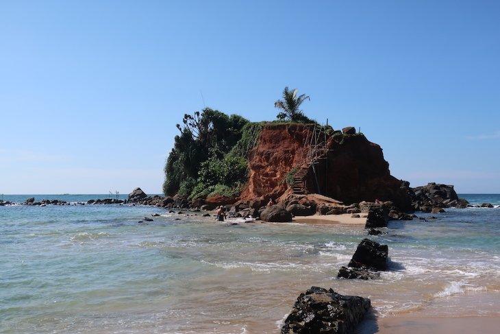 Na Praia de Mirissa - Sri Lanka © Viaje Comigo
