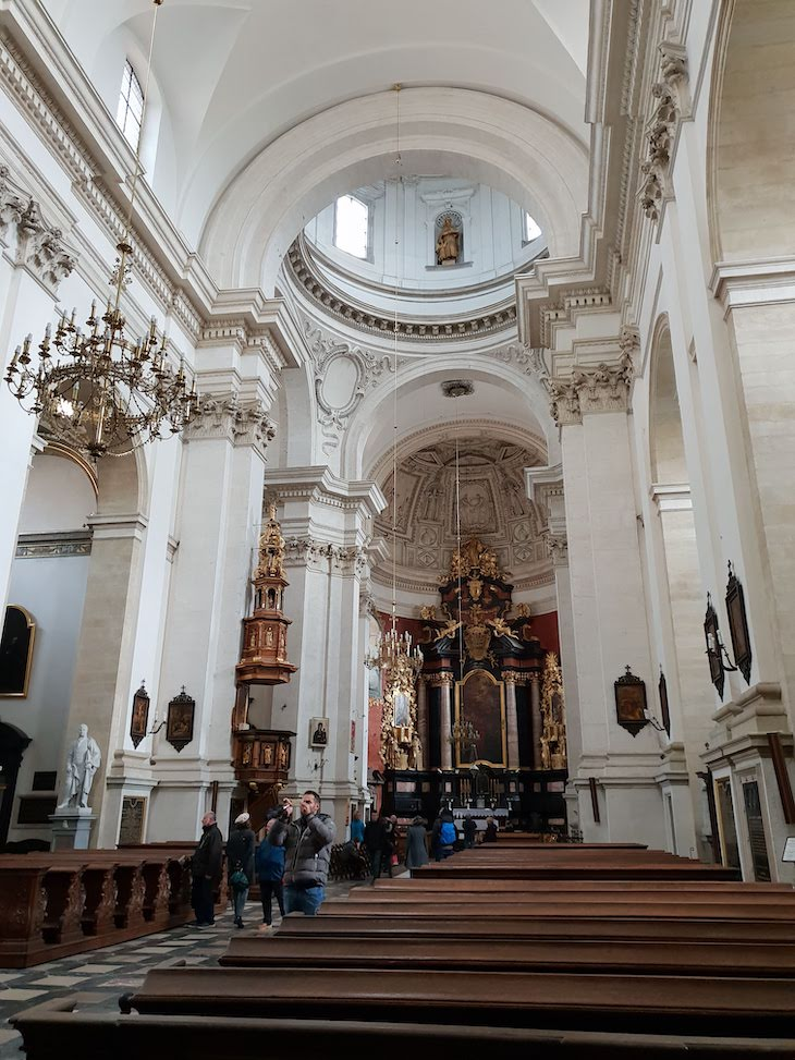 Igreja S. Pedro e S. Paulo - Cracóvia - Polónia © Viaje Comigo