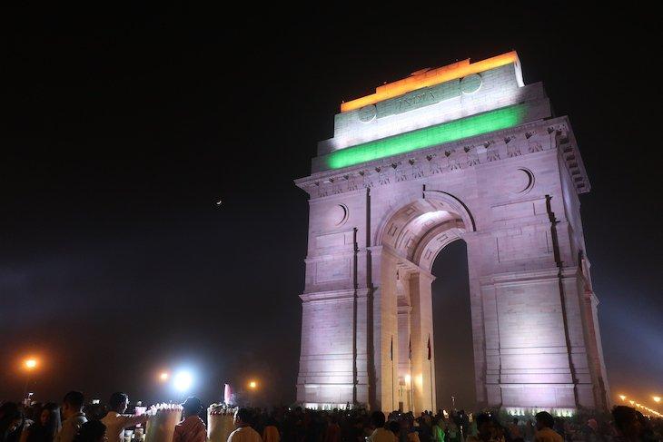Na Porta da Índia, Deli - Índia © Viaje Comigo