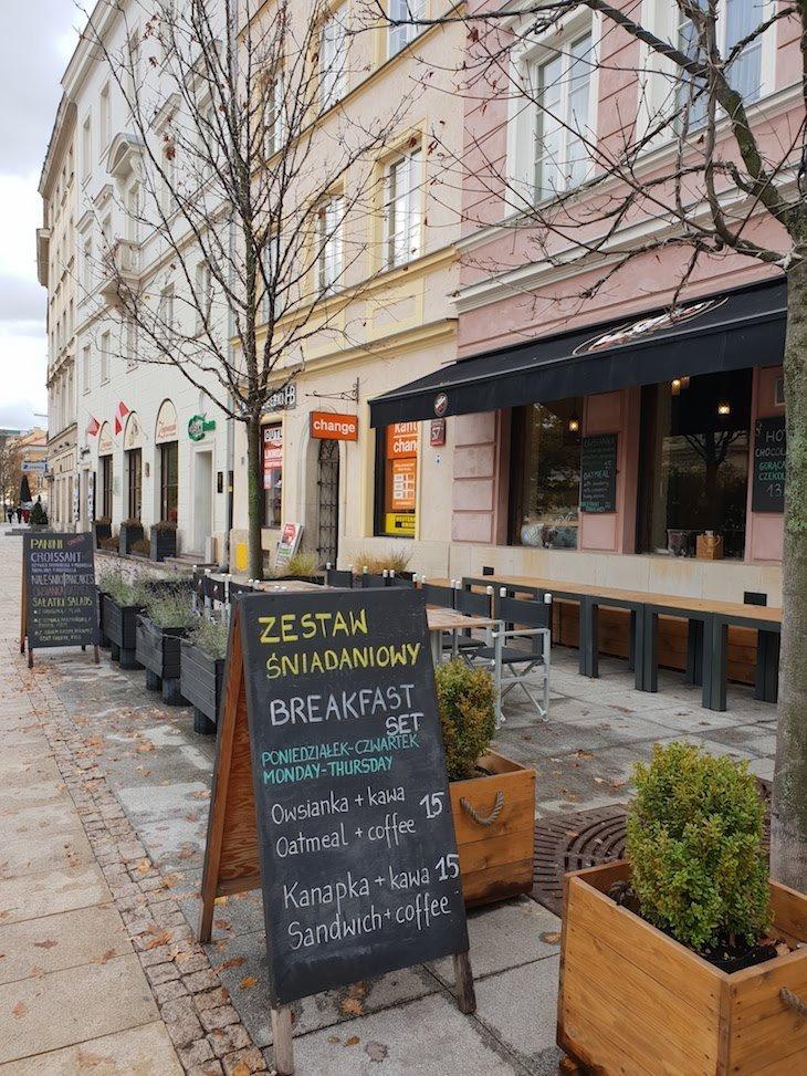 Restaurantes e cafés de Varsóvia - Polónia © Viaje Comigo