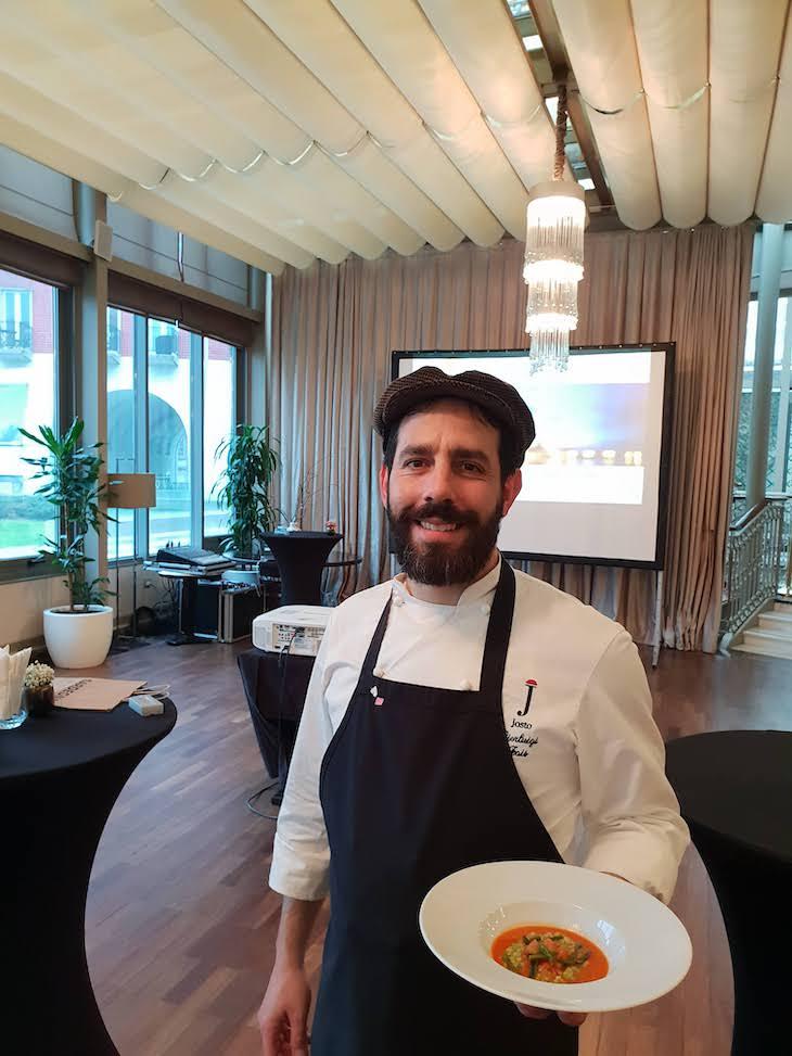 Pierluigi Fais, cozinheiro da Sardenha © Viaje Comigo