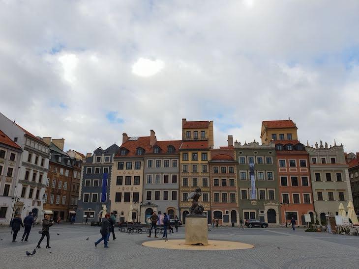Praça do Mercado - Varsóvia - Polónia © Viaje Comigo
