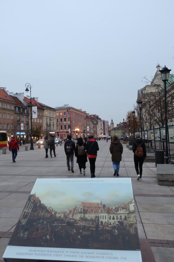 Quadros de Canaletto -Varsóvia - Polónia © Viaje Comigo