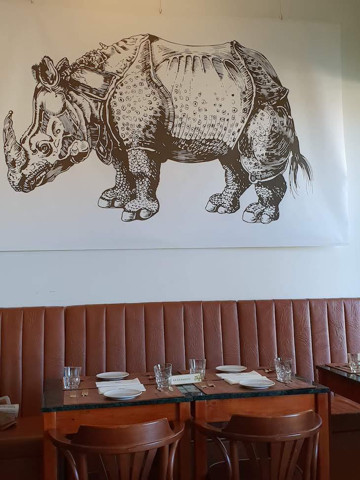 Restaurante Geographia, Lisboa, Portugal © Viaje Comigo