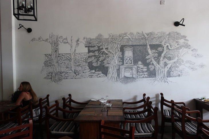 Almoço no restaurante Kamu em Galle - Sri Lanka © Viaje Comigo
