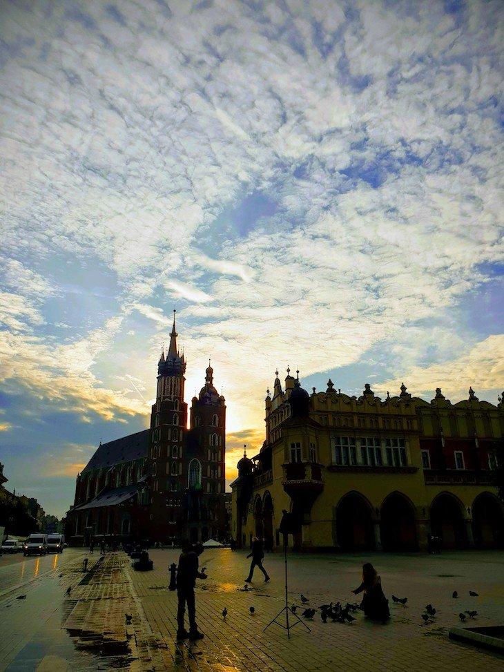 Praça do Mercado - Cracóvia - Polónia © Viaje Comigo