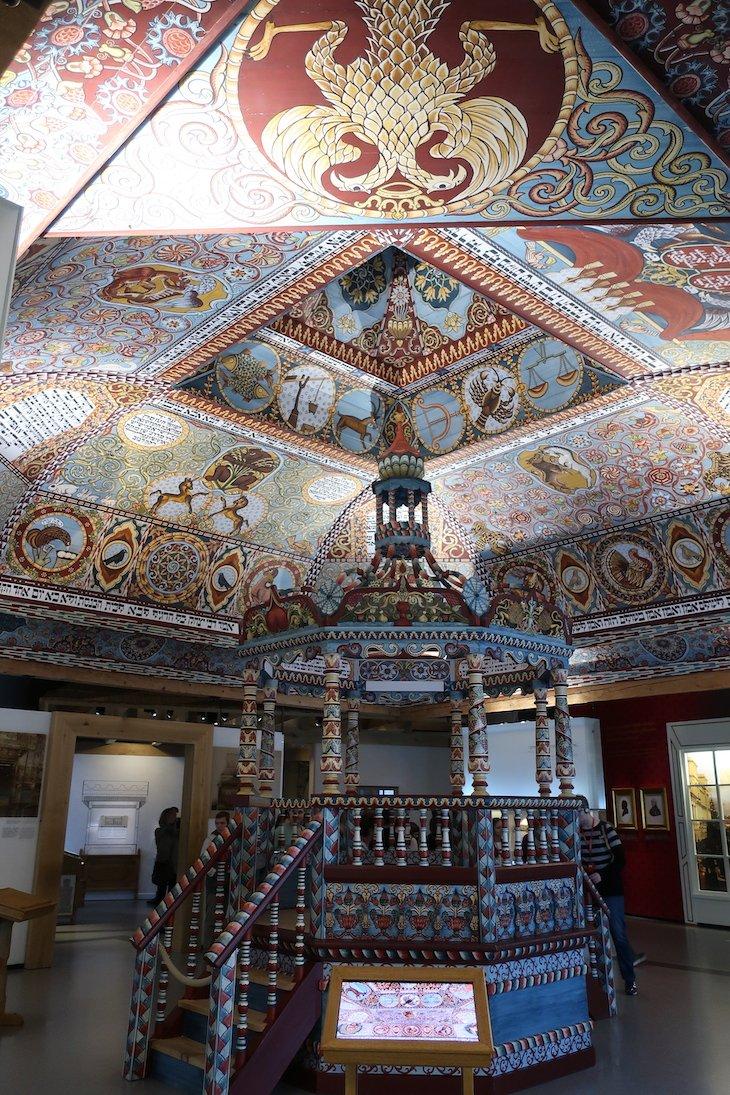 Réplica da Sinagoga no Museu POLIN - Museu da História dos Judeus Polacos- Varsóvia - Polónia © Viaje Comigo