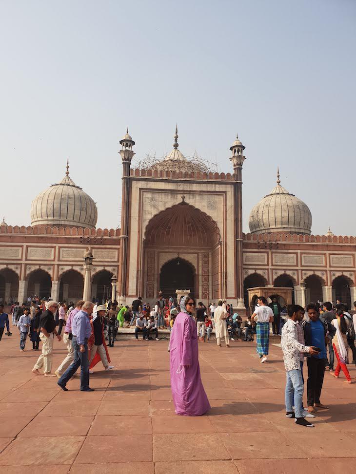 Mesquita Jama Masjid, Deli, Índia © Viaje Comigo