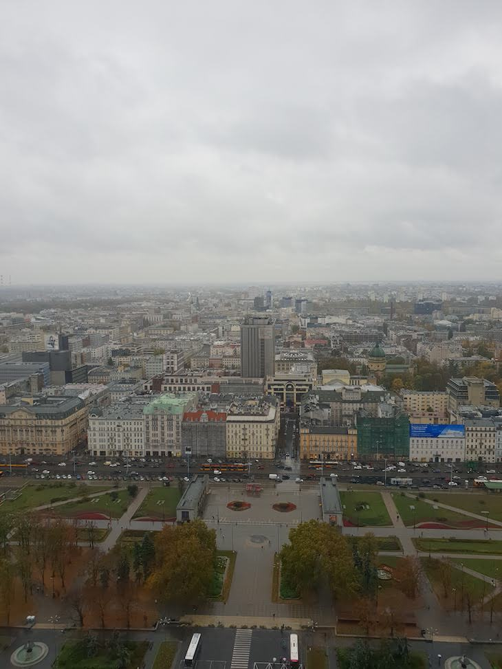 Palácio da Cultura e da Ciência - Varsóvia - Polónia © Viaje Comigo