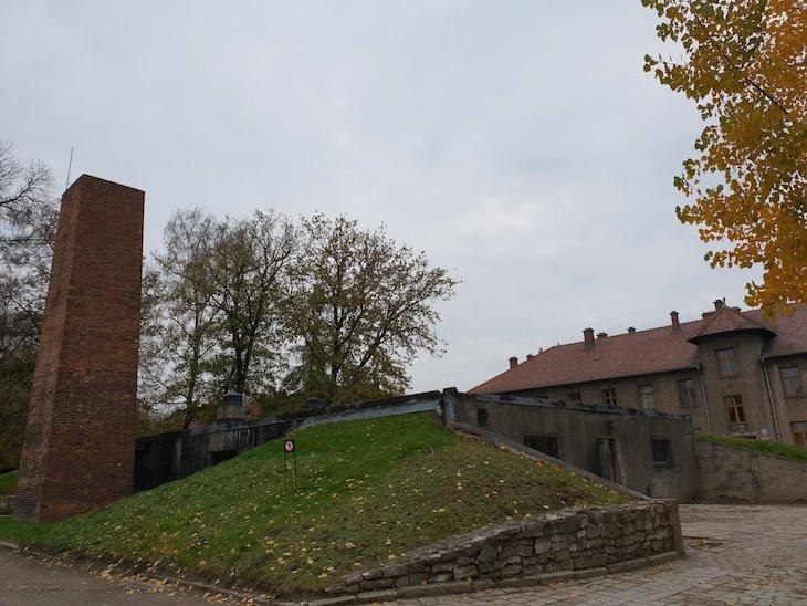 Câmara de gás e crematório em Auschwitz I- Polónia © Viaje Comigo