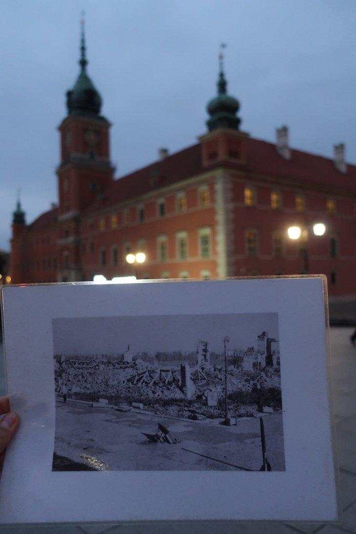Fotografias do pós-guerra em Varsóvia - Polónia © Viaje Comigo